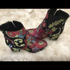Marc Fisher Printed Booties